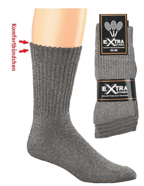 """Tennis Socken """"Texas-Style"""" Übergröße * 5er-Bündel"""