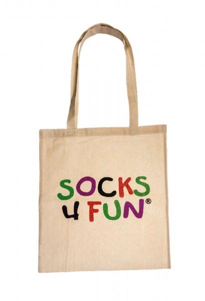 "Baumwollbeutel ""Socks4Fun"""