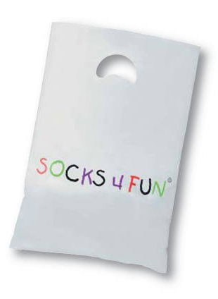 "Tragetaschen ""socks4fun"" * 50er-Bündel"