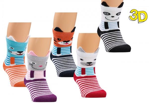 """Baby-Socken """"3D"""" * 3er-Bündel"""