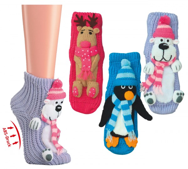"Homesocks ""Wintertiere"" * 60er-Sortiment"