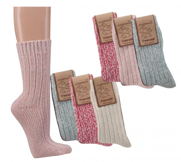 Norwegersocken, 3er-Teilung * 60er-Sortiment
