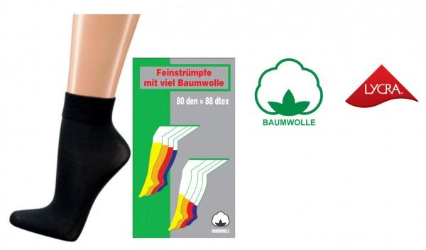 Baumwoll-Feinsöckchen * 3er-Bündel