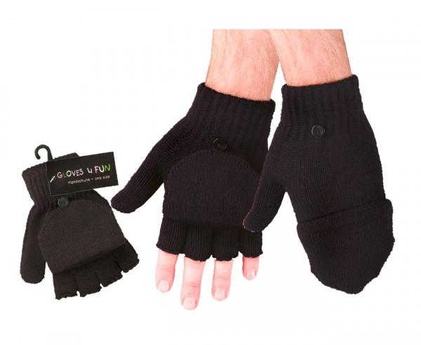 1/2-Finger-Handschuhe/Fäustlinge * 60er-Sortiment