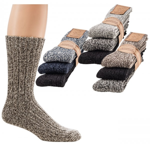 Norwegersocken Farbig * 60er-Sortiment