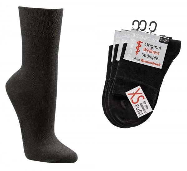 XS-Wellness-Socken * 3er-Bündel