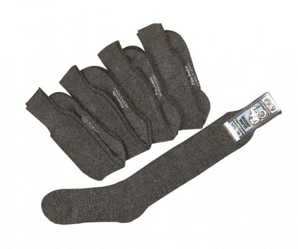 NORDPOL-Socke 70% reine Wolle, lang * 5e- Bündel
