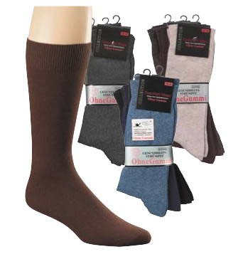 Herren-Wellnesssocken, Baumwolle * 99er-VE