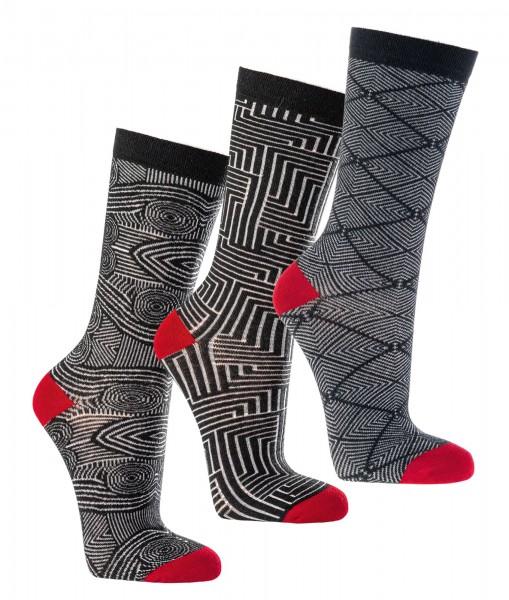 GOTS-Bio Unisex Trend-Socken * 2er-Bündel