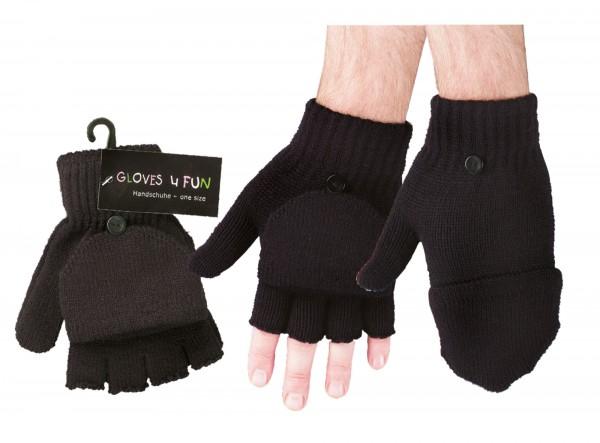 1/2-Finger-Handschuhe/Fäustlinge