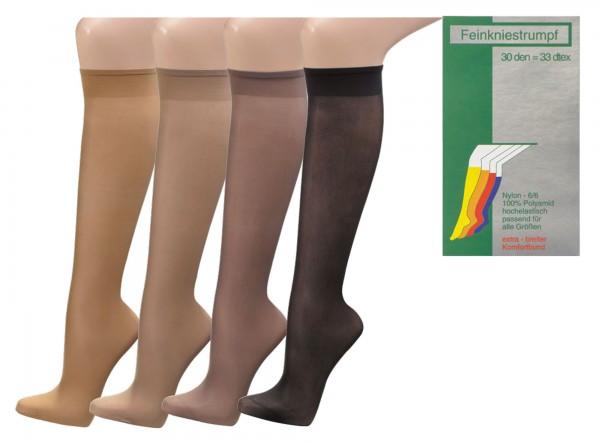 Knie-Fein-Strümpfe, 30 den