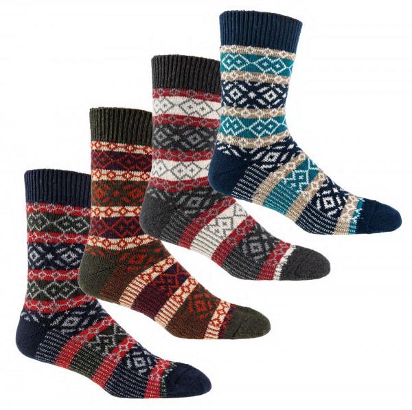 """""""Hygge""""-Socken mit Wolle * 3er-Bündel"""