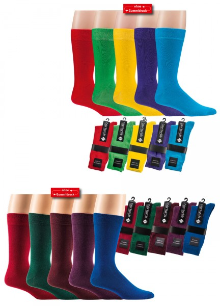 "Herrensocken ""Color Your Life"" * 60er-Sortiment"