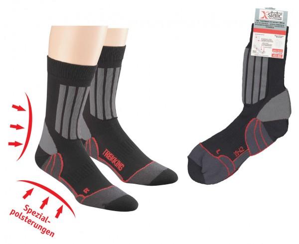 Allround Sport- und Trekking-Socken mit X-Static®