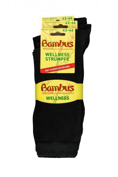 Bambus Wellnesssocken * 3er-Bündel