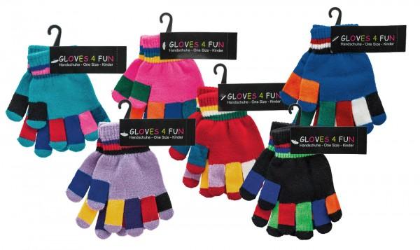 Kinder-Handschuhe * 60er-Sortiment