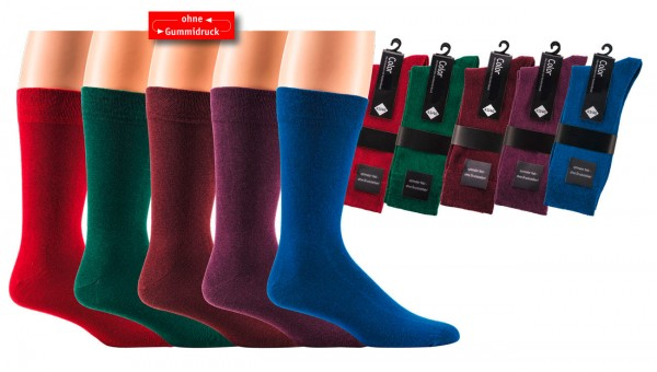 "Herrensocken ""Color Your LIfe"" * 2er-Bündel"