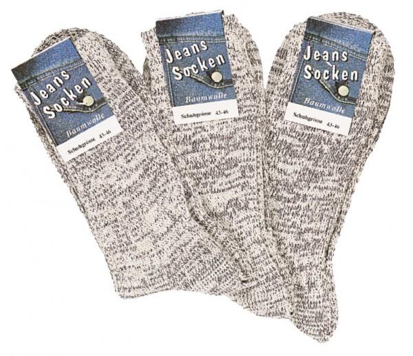 Socken Im Original Jeans-Style * 3er-Bündel