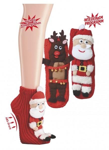 """Kinder/Damen Homesocks """"Weihnachten"""""""