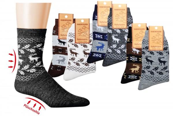 Norweger-Country-Socks * 2er-Bündel