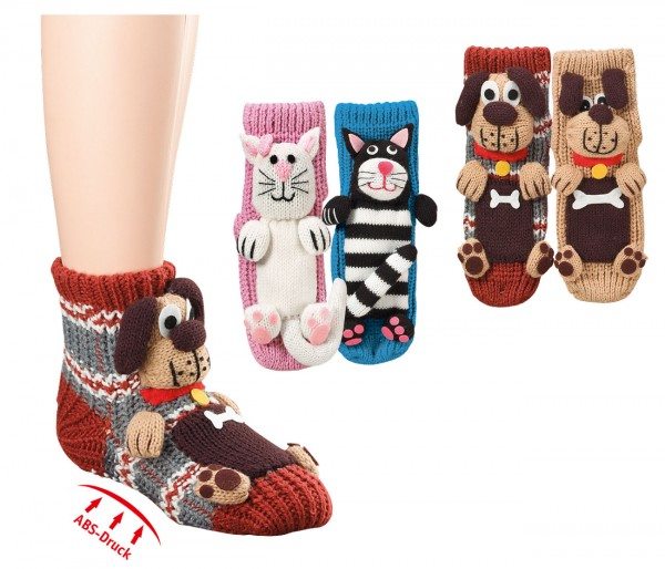 "Homesocks ""Hund & Katze"" * 60er-VE"
